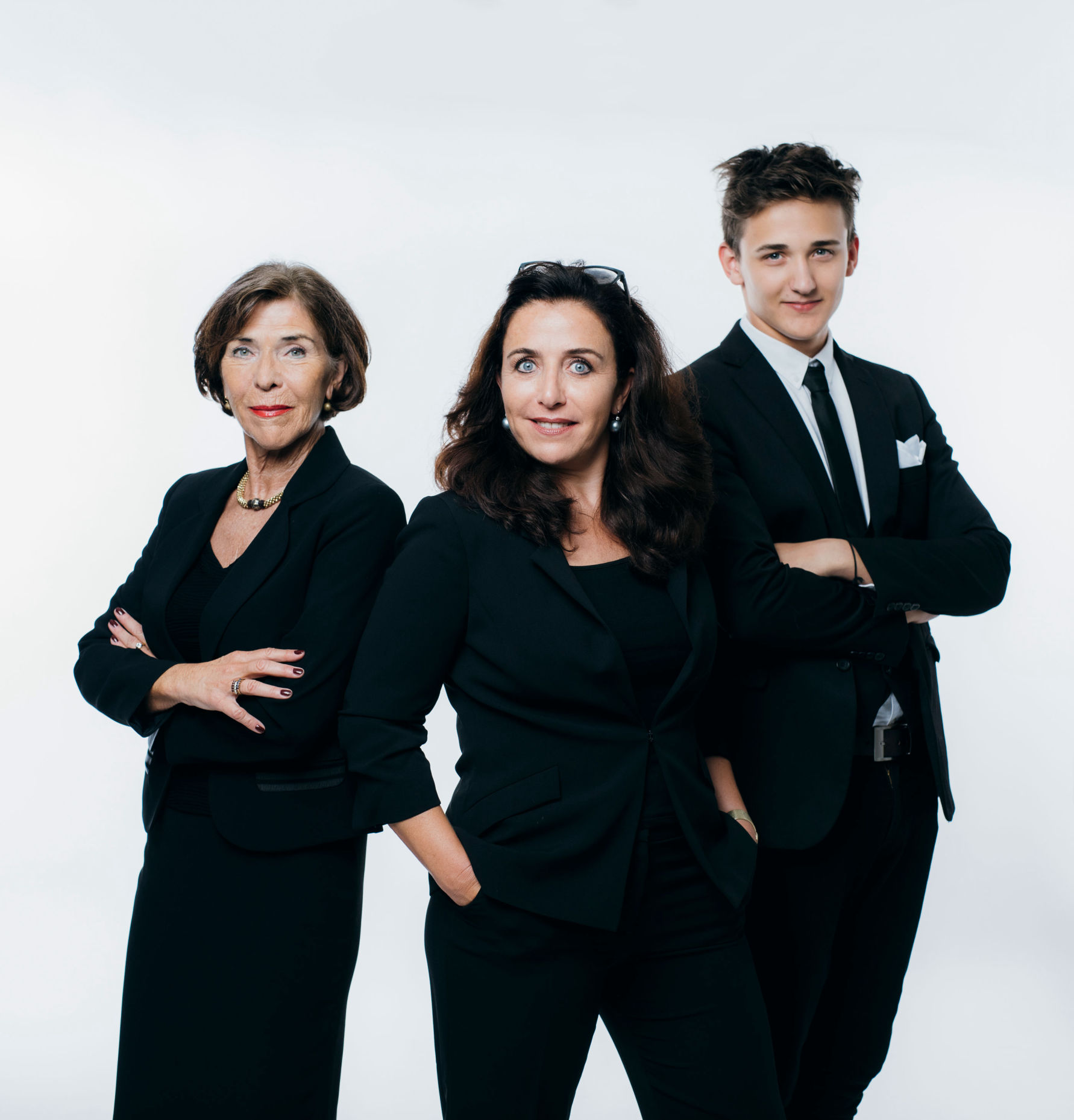 Gaube family business: founder Elisabeth Gaube, managing director Martina Silly-Gaube and young talent Martin Silly